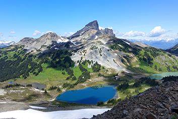 Black Tusk Mountain in BC