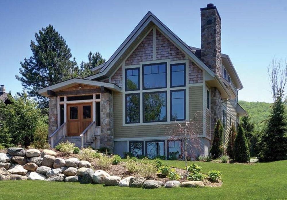 Classic Georgian Bay house