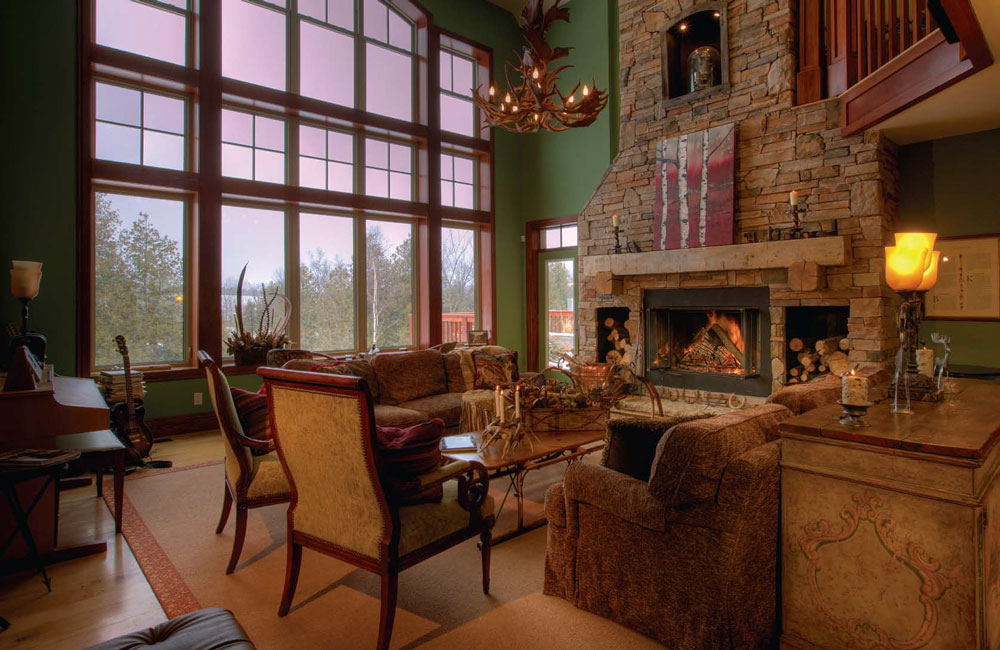 Rustic Beaver Valley home